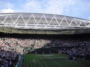 """Centre Court Wimbledon 2009"" by Delfort"