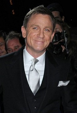 """""""Daniel Craig at a film premiere in New York"""" by NYTrotter - Own work."""