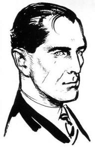 tekening van James Bond