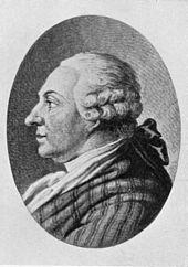 portret van de vader van de dichter Goethe