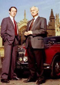Robbie Lewis en Inspector Morse