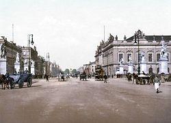 Unter den Linden rond 1900