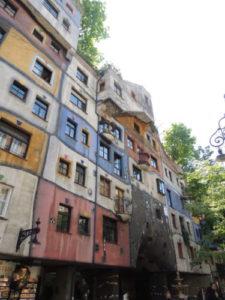 gebouw in Wenen van Oostenrijkse architect