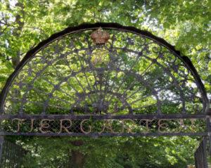 """toegangshek van de dierentuin """"Tiergarten Schönbrunn"""" in Wenen"""