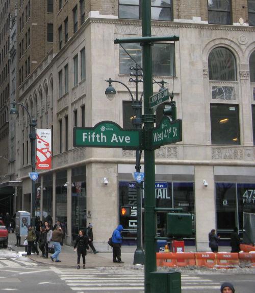 nyc avenue-street